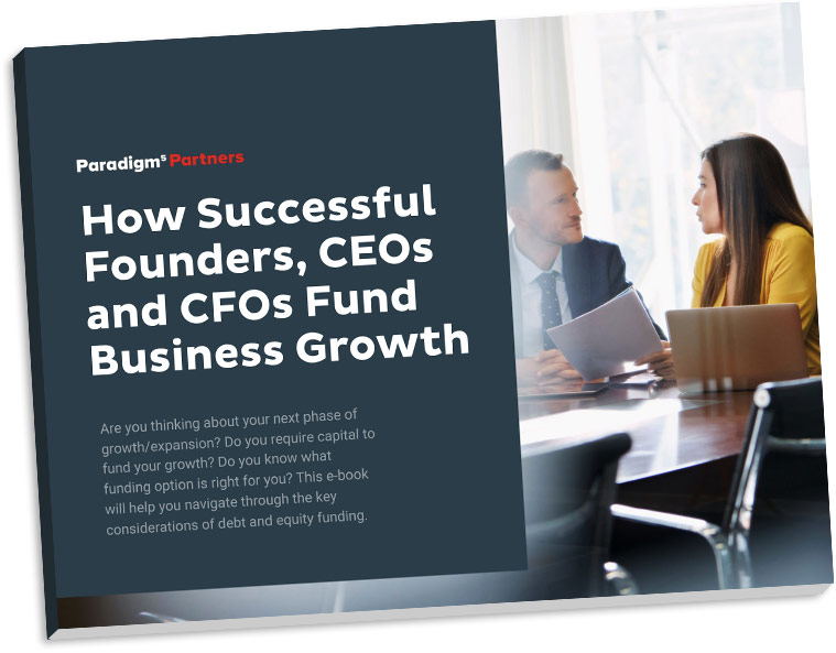 eBook: How Successful Founders, CEO's and CFO's Fund Business Growth